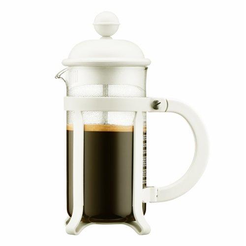 Bodum Java 0.35L Cafetiere Coffee Maker, Off White