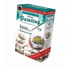 Fantazer Underwater Tropics Pebble Painting Set | Stone Painting Kit