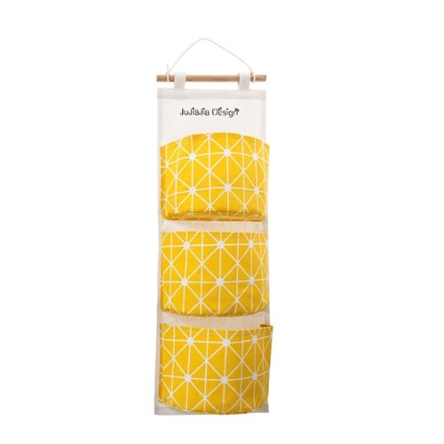 Wall Bags Storage Bag Over the Door Storage Pockets  with 3 Pockets