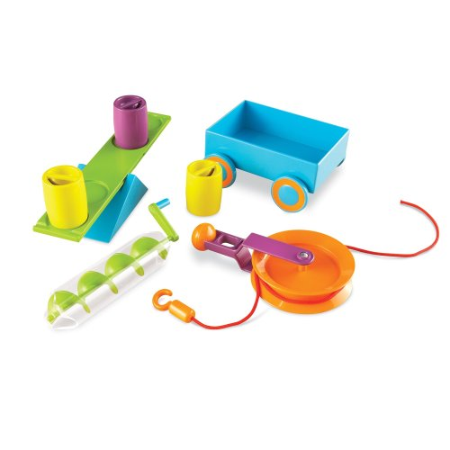 Learning Resources STEM - Simple Machines Activity Set