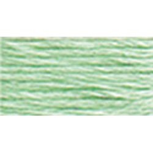 DMC Pearl Cotton Skein Size 5 27.3yd-Light Nile Green