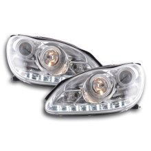 Daylight headlight  Mercedes S-Classe W220 Year 02-05 chrome