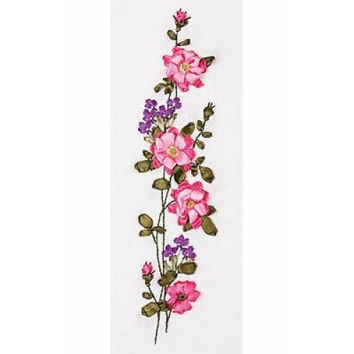 Panna Ribbon Embroidery Kit - C-0990 Wild Rose / Dog Rose