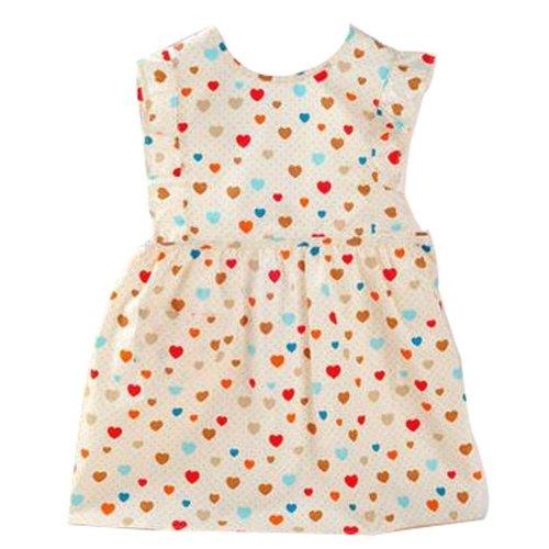 Korean Children Cotton Aprons Waterproof Gowns Baby Apron