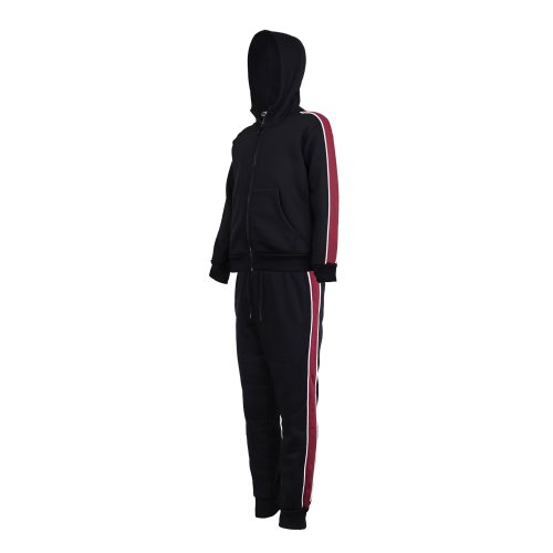 Kids Tracksuit With Side Stripes