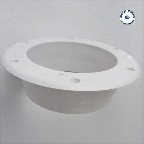 Mushroom Air Vent Internal Flange for 150mm Vent (white plastic)