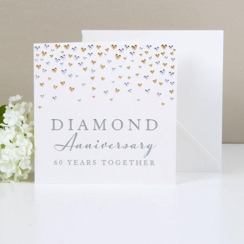 Amore Deluxe Card - Diamond Anniversary