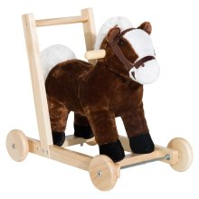 Homcom 3-in-1 Toddler Kids Ride on Toy Walker - Horse