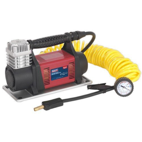 Sealey MAC06 Mini Air Compressor 12V Heavy-Duty