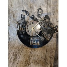 Walking Dead 3 Vinyl Record Clock home decor gift
