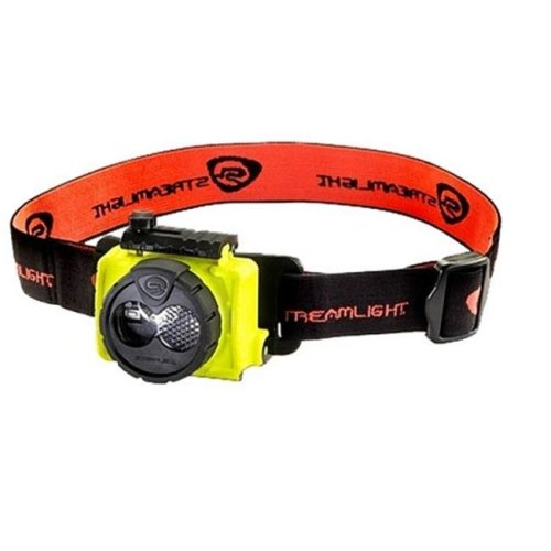 Streamlight STL-61600 Double Clutch USB Rechargeable Headlamp, Yellow