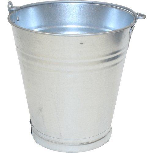 "Galvanised Bucket Medium Duty 12"""