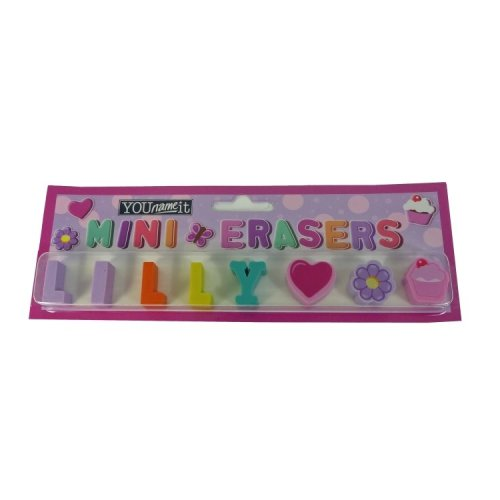 Childrens Mini Erasers - Lilly