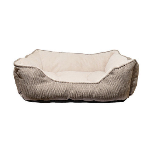 40 Winks Square Bed Luxury Truffle 61x46cm