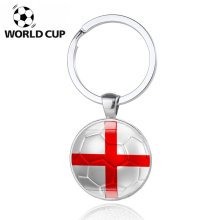 TRIXES England St George Football World Cup Keyring