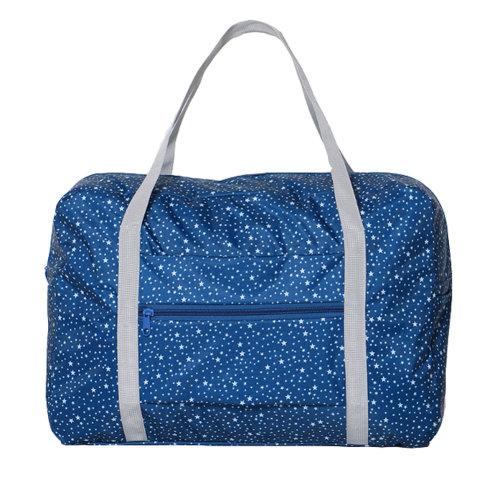 Foldable Travel Bag Lightweight Travel Luggage Bag for Women & Men, E