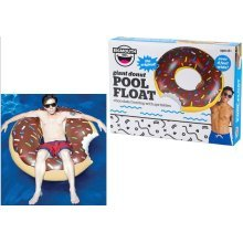BigMouth Inflatable Giant Chocolate Frosted Donut Pool Float Beach Holiday Swimming Lounger Water Beach
