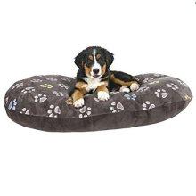 Trixie Jimmy Dog Cushion, 50 x 35 Cm, Taupe - Cushioncm Pet Cat Puppy Soft -  trixie cushion taupe jimmy dog 50 35 cm pet cat puppy soft plush cover