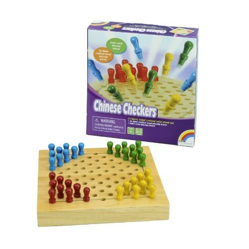 Mini Wooden Chinese Checkers