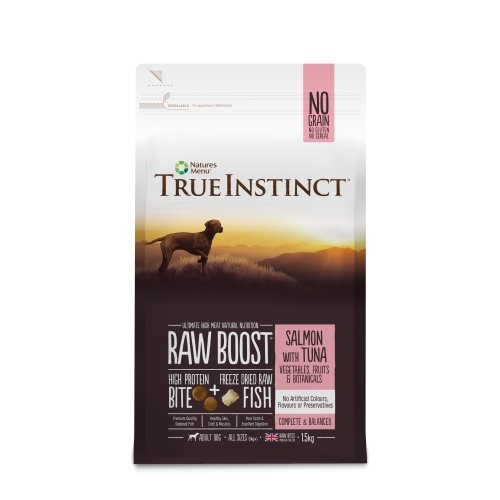 True Instinct Raw Boost Adult Dog Salmon with Tuna