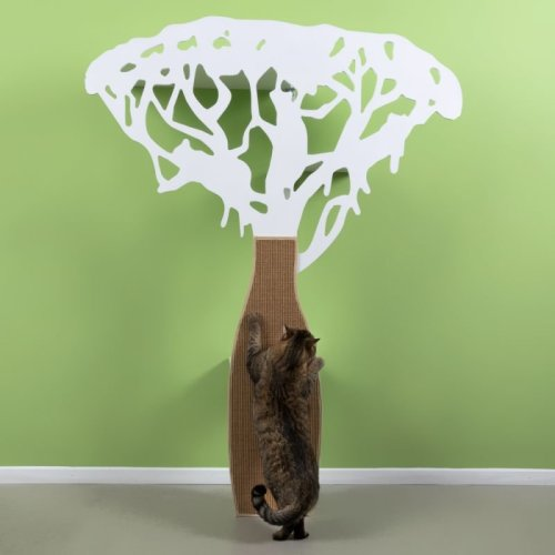 Unusual Decorative Cat Tree Scratching Post