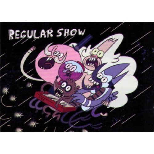 Regular Show Cast Fall Magnet