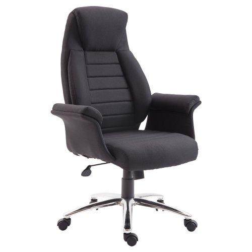 Homcom High Back Fabric Office Chair Swivel