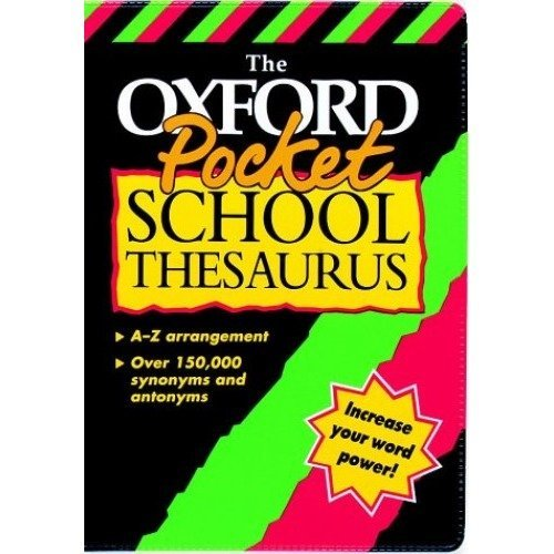 Pocket School Thesaurus