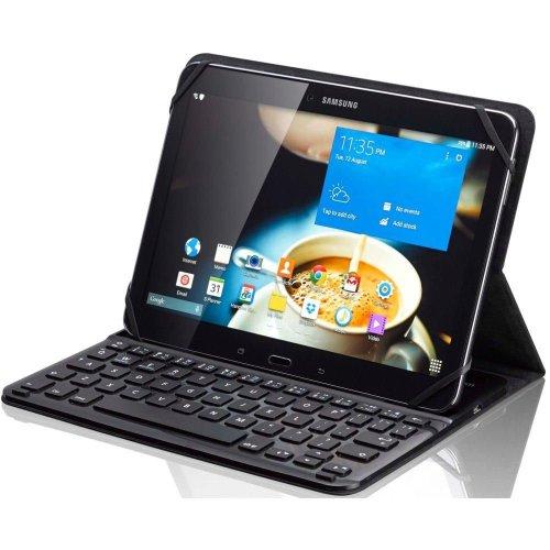 SANDSTROM S10UKBF14 Keyboard Folio Tablet Case - Black, Black