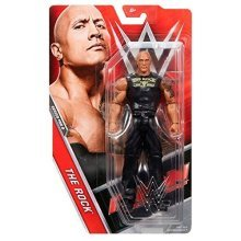 WWE The Rock Basic Series 68.5 Mattel Wrestling Action Figure Brand New Sealed