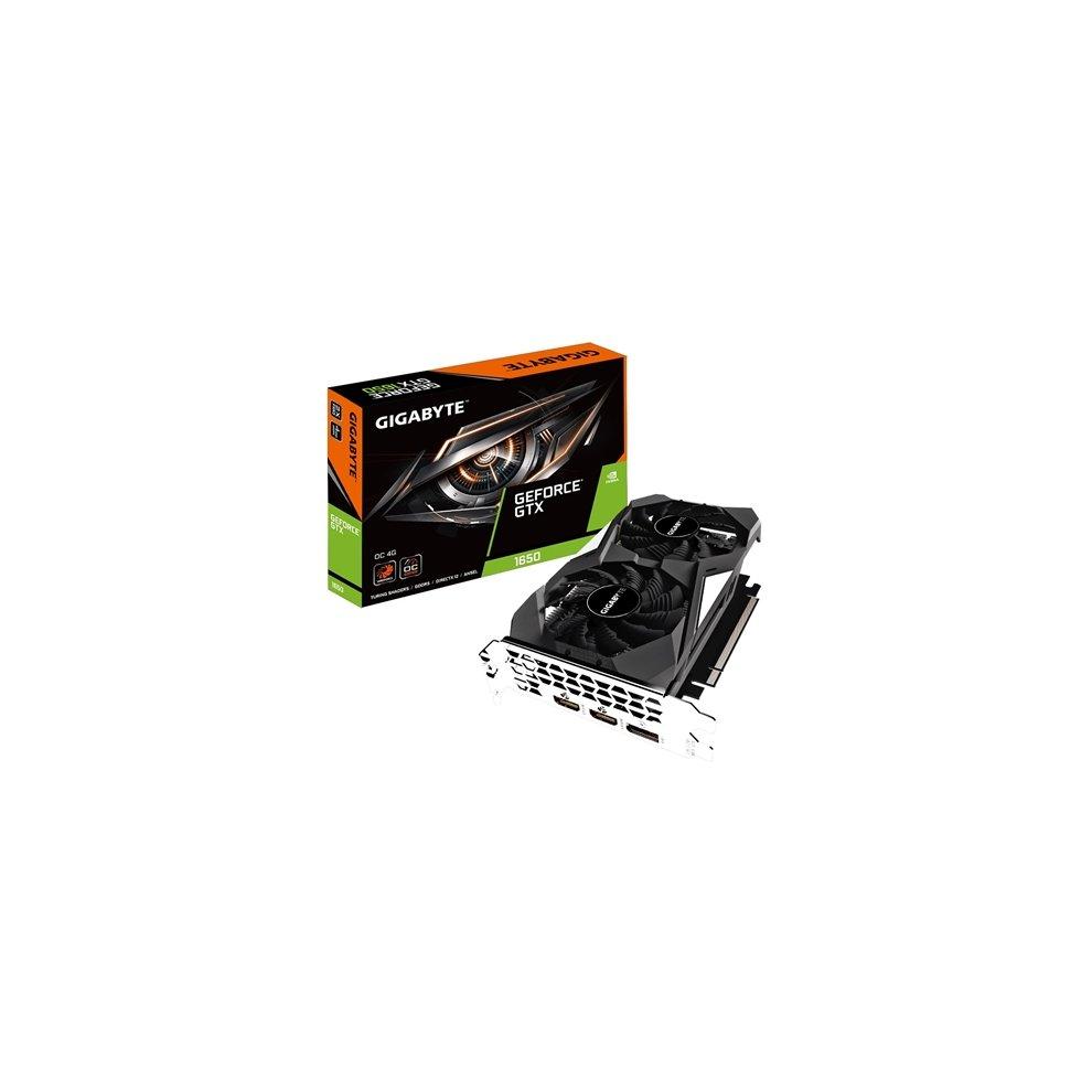 Gigabyte Nvidia Geforce Gtx 1650 Oc 4Gb Dual Fan Graphics Card  GV-N1650OC-4GD