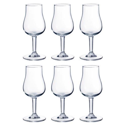 Durobor Porto Glass Set of 6, 13cl