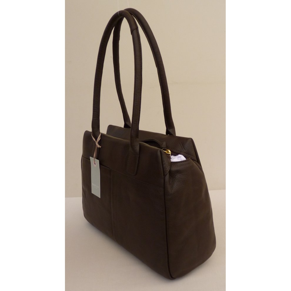 Bag 4 Radley Portland Place Large Dark Brown Leather Shoulder