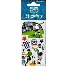 Football Stickers - Set of 3 Sheets
