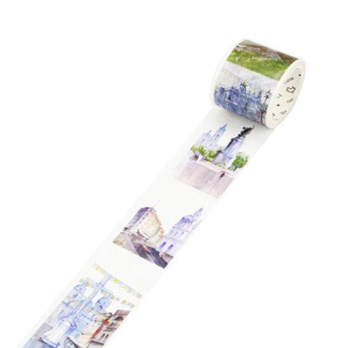 Decorative Craft Masking Tape DIY Crafts Gift Washi Tape 40mmx7m,Brazil