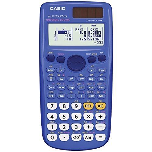 Casio fx 300ES PLUS Scientific Calculator Blue