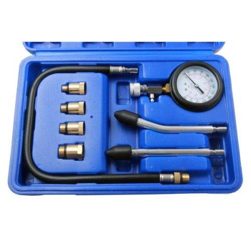 US PRO Compression Tester Gauge Kit For Petrol Engines M10 - M18