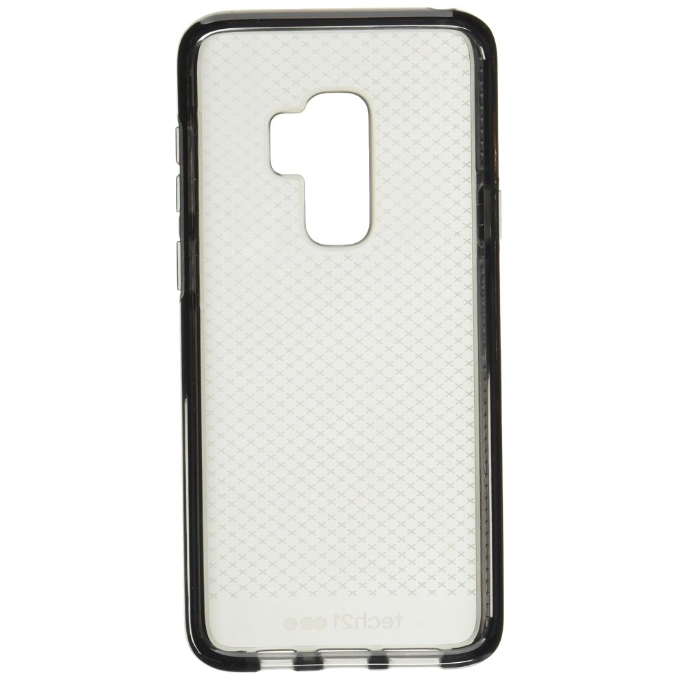 the latest be128 2b330 Tech 21 Protective Case For Samsung Galaxy S9 Plus in smokey black clear