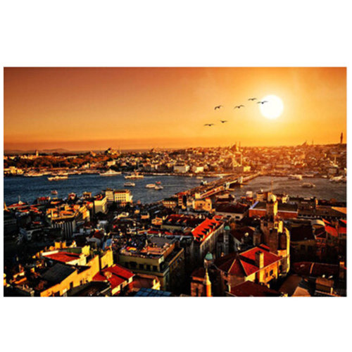 Fashionable Wooden Puzzle For Adult 1000 Piece Jigsaw Puzzle, Turkey