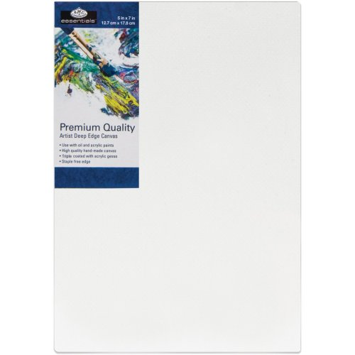 "essentials(TM) Premium Gallery Style Deep Edge Canvas-5""X7"""