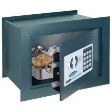 Electronic Wall Safe Security Rottner Home Steel Wallmatic 1
