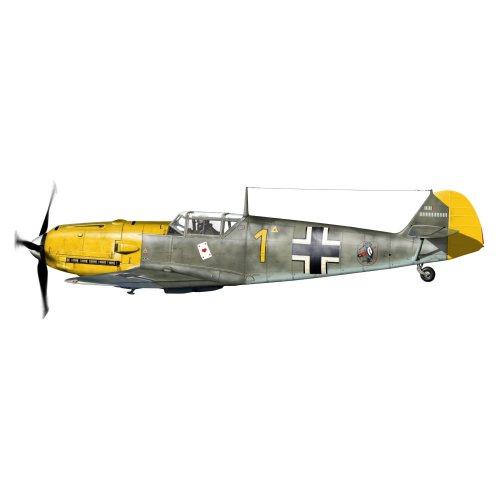 Eduard Models EU84165 Bf 109E-3 Weekend Edition Aircraft