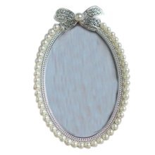 6-inch Photo Frame Elipse Bead Photoframe and Home Decoration