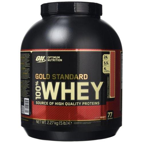 Optimum Nutrition Gold Standard 100% Whey 2273 g Strawberry Protein Shake Powder
