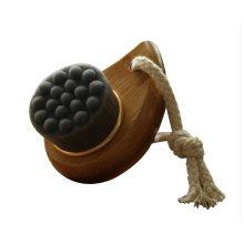 (Bamboo Charcoal)Manual Facial Brush Deep Cleanse Pores/Black Head(Phoebe Handl)