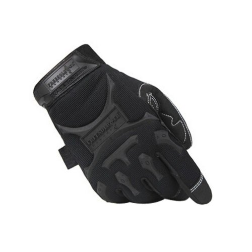 Cool Outdoor Sport Riding Camping Climbing Gloves BLACK, L