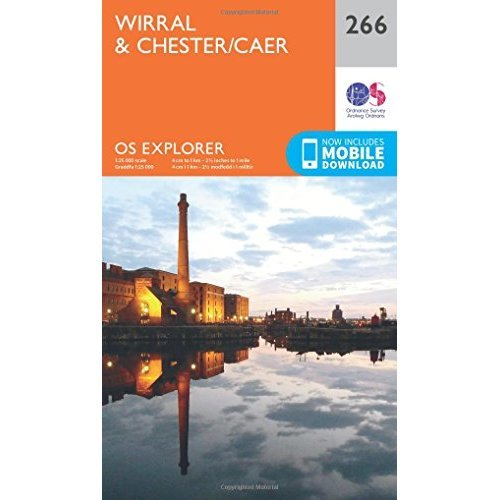 OS Explorer Map (266) Wirral and Chester