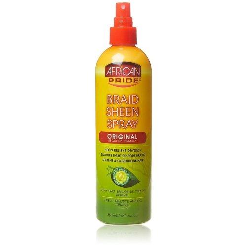African Pride Braid Sheen Spray Original 355ml