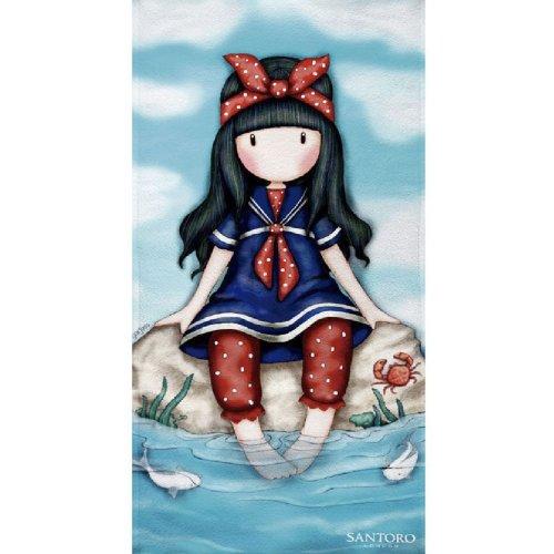 Textile Tarragó Gorjuss Beach Towel, Cotton, Blue, 30x 40x 3cm
