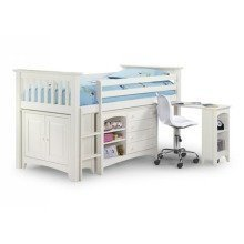 Lewestine White Sleep Station Childrens Bed